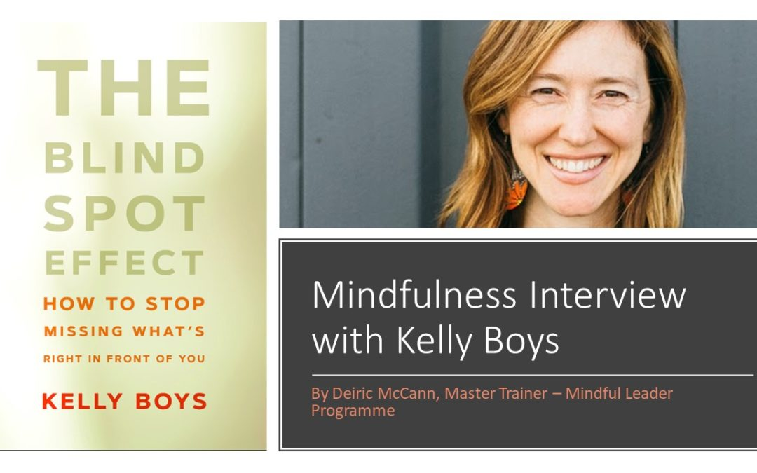 Mindfulness Interview with Author Kelly Boys