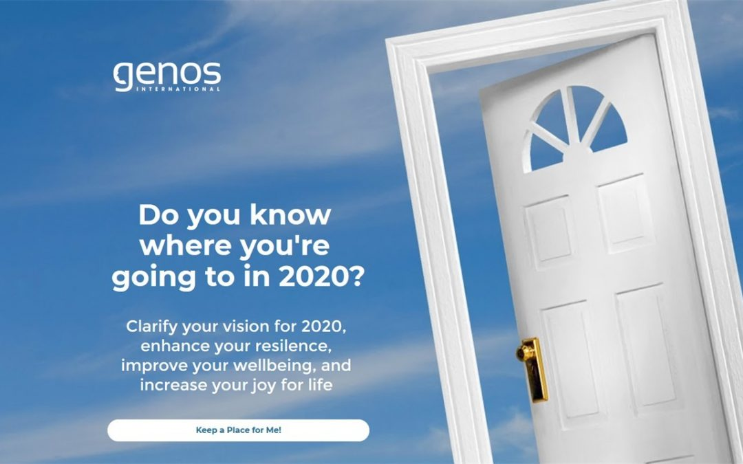 Do you know where you're going to? New Genos resilience, visioning and well-being program