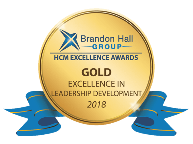 Brandon Hall Group HCM Excellence Award 2018