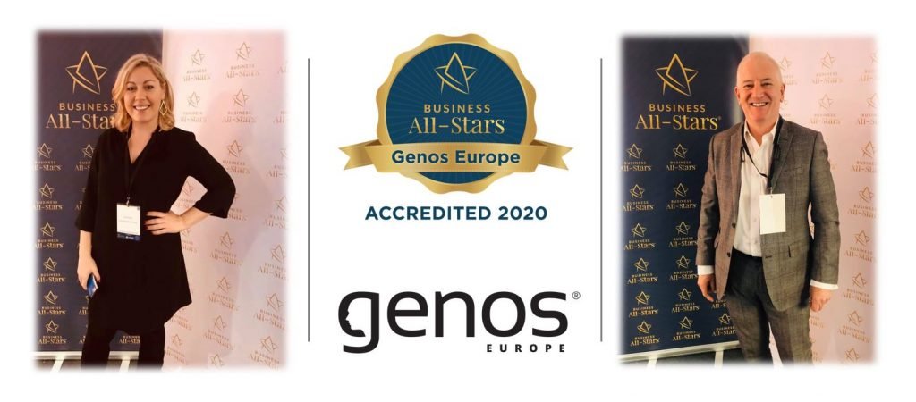 Genos International Europe Receive Business All-Star Accreditation
