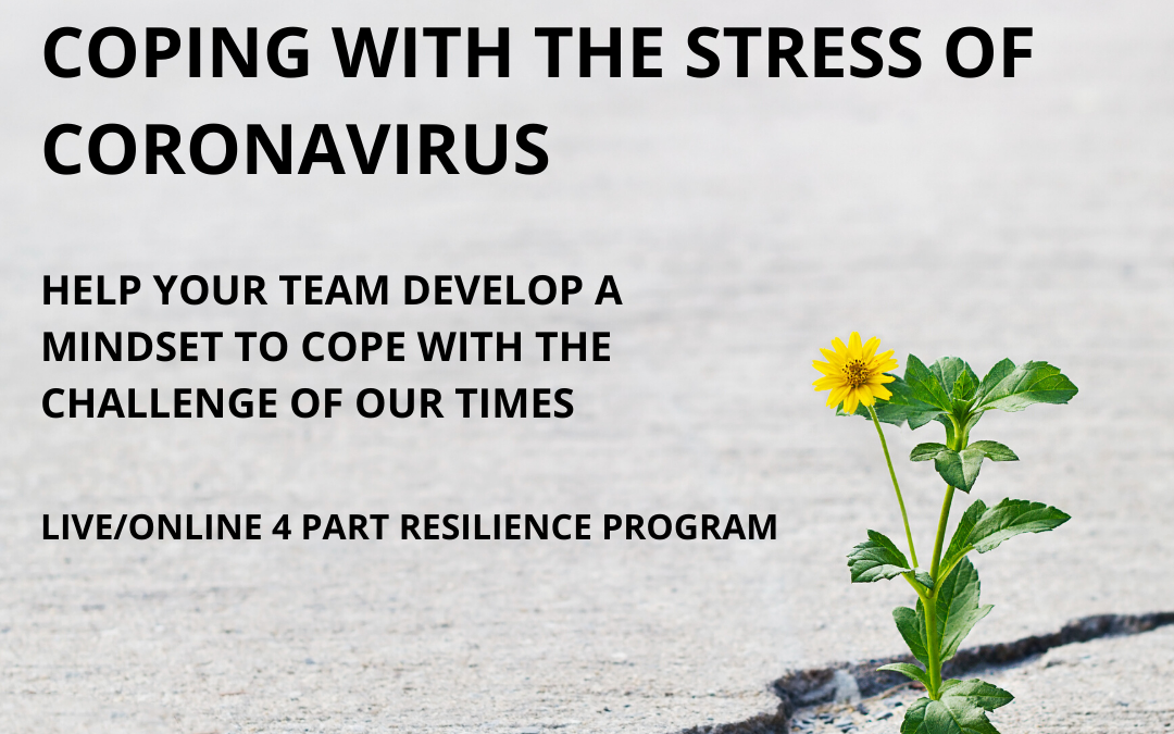 Resilience & Stress Management Training for Coping with Coronavirus