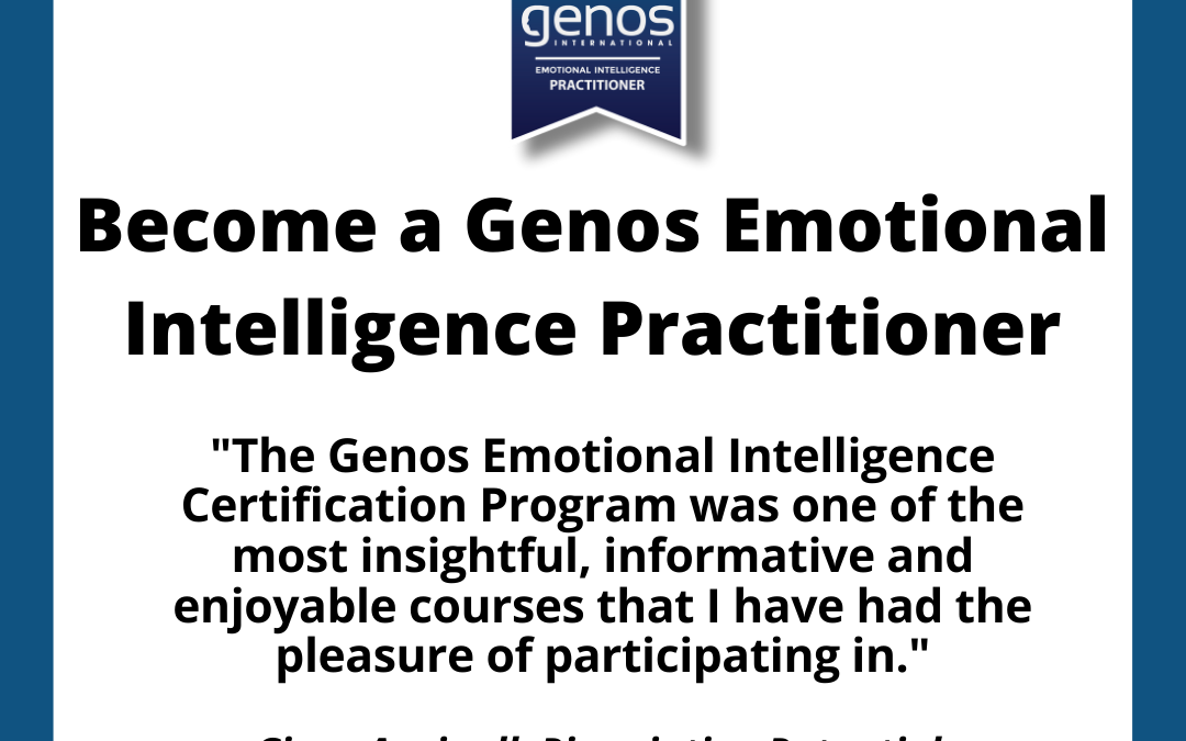 Powerful Emotional Intelligence Certification – Online, Live Program
