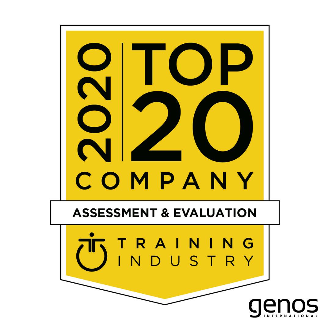 genos international top training assessment evaluation company 2020
