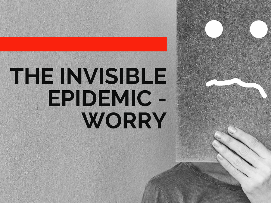 The Invisible Epidemic – Worry. A TEDx Talk with Deiric McCann