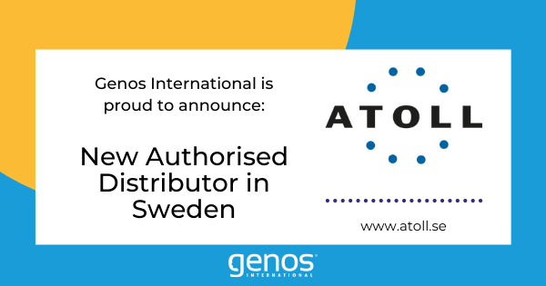 New Genos Distributor for Sweden – Atoll AB
